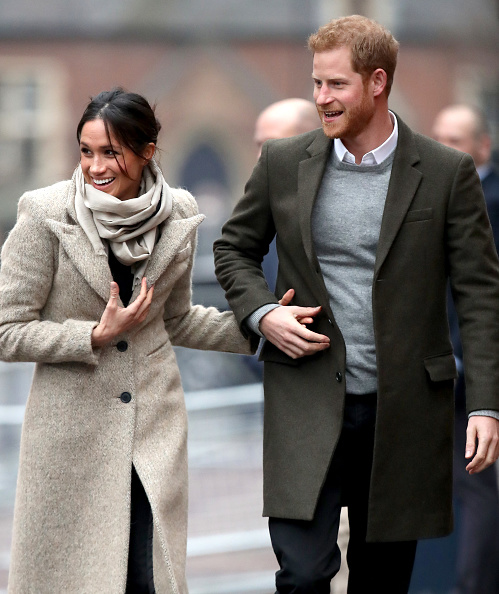 Coat - Garment「Prince Harry and Meghan Markle Visit Reprezent」:写真・画像(6)[壁紙.com]