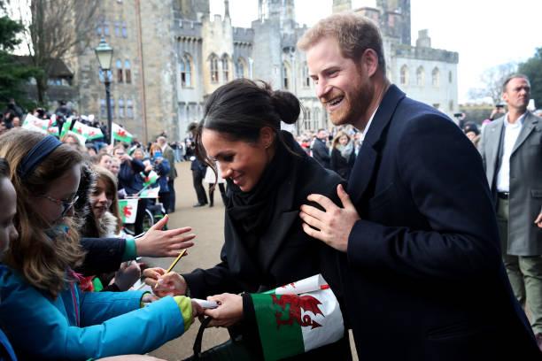 Prince Harry And Meghan Markle Visit Cardiff Castle:ニュース(壁紙.com)