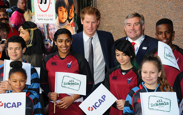 Caritas Internationalis Charity Day「Prince Harry Attends The Annual ICAP Charity Day」:写真・画像(19)[壁紙.com]
