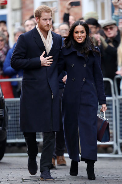 Fiancé「Prince Harry & Meghan Markle Visit Nottingham」:写真・画像(3)[壁紙.com]