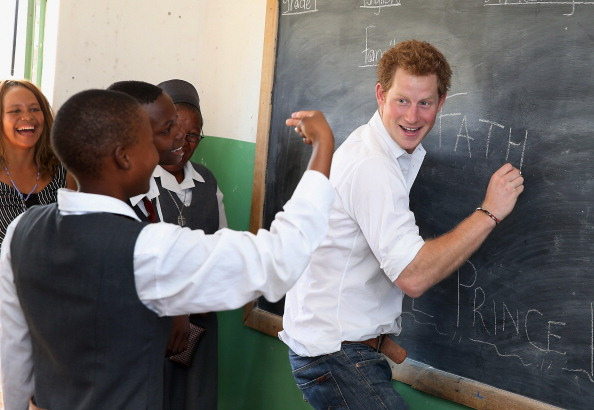 Charity and Relief Work「Prince Harry Visits Lesotho」:写真・画像(7)[壁紙.com]