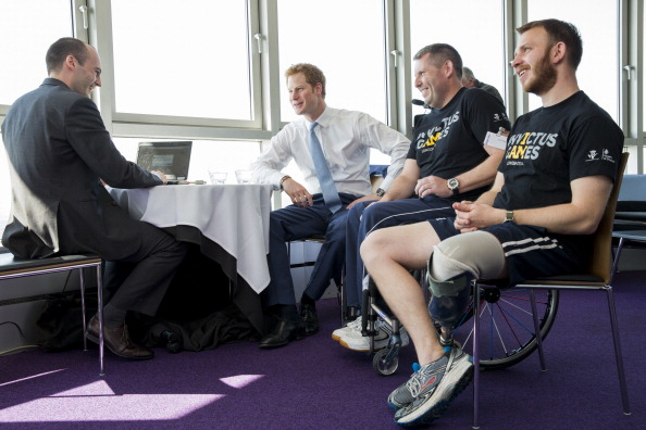 Andy Phillips「Launch Of Invictus Games Tickets Going On Sale And BT Sponsorship Announcement」:写真・画像(6)[壁紙.com]