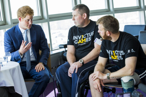 Andy Phillips「Launch Of Invictus Games Tickets Going On Sale And BT Sponsorship Announcement」:写真・画像(5)[壁紙.com]