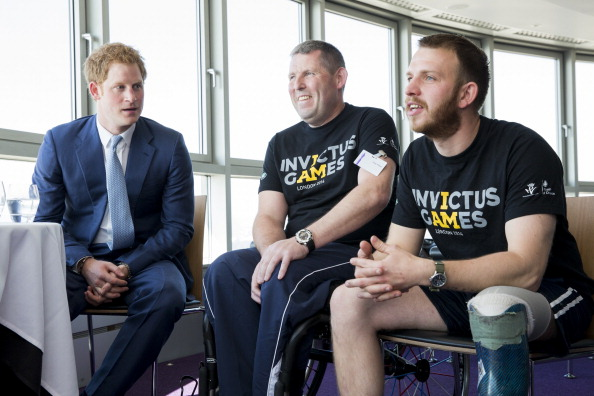 Andy Phillips「Launch Of Invictus Games Tickets Going On Sale And BT Sponsorship Announcement」:写真・画像(7)[壁紙.com]
