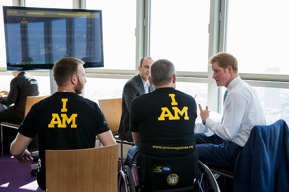 Andy Phillips「Launch Of Invictus Games Tickets Going On Sale And BT Sponsorship Announcement」:写真・画像(4)[壁紙.com]