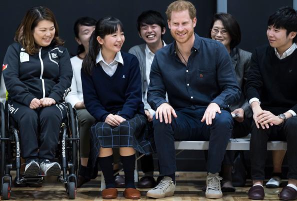 Tokyo - Japan「The Duke Of Sussex Visits Japanese Para-Athletes In Tokyo」:写真・画像(6)[壁紙.com]