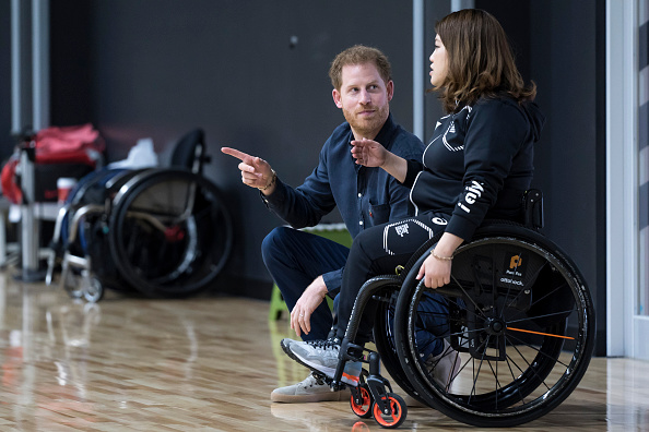 Para State「The Duke Of Sussex Visits Japanese Para-Athletes In Tokyo」:写真・画像(11)[壁紙.com]