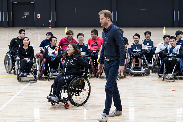 Para State「The Duke Of Sussex Visits Japanese Para-Athletes In Tokyo」:写真・画像(1)[壁紙.com]