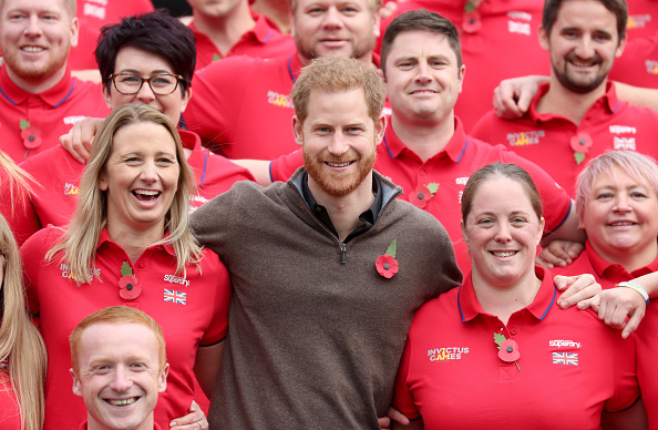 Competitive Sport「The Duke Of Sussex Attends The Launch Of Team UK For The Invictus Games The Hague 2020」:写真・画像(19)[壁紙.com]