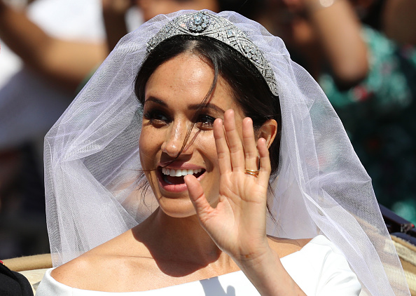 Wedding Dress「Prince Harry Marries Ms. Meghan Markle - Procession」:写真・画像(9)[壁紙.com]