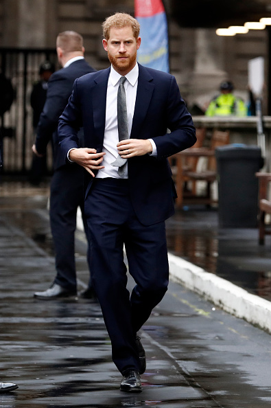 Navy Blue「The Duke Of Sussex Attends Veteran's Mental Health Conference」:写真・画像(8)[壁紙.com]