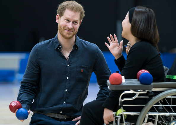 Royal Person「The Duke Of Sussex Visits Japanese Para-Athletes In Tokyo」:写真・画像(19)[壁紙.com]