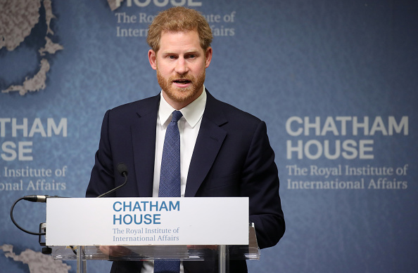 Speech「The Duke Of Sussex Attends The Chatham House Africa Programme Event」:写真・画像(10)[壁紙.com]