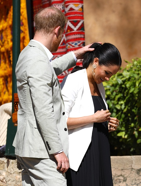 Touching「The Duke And Duchess Of Sussex Visit Morocco」:写真・画像(9)[壁紙.com]