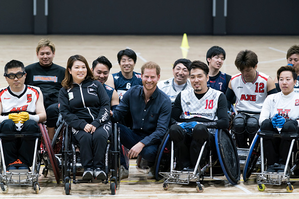 Sport「The Duke Of Sussex Visits Japanese Para-Athletes In Tokyo」:写真・画像(14)[壁紙.com]