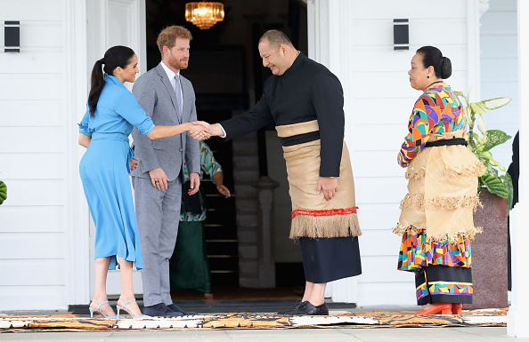 Nuku'alofa「The Duke And Duchess Of Sussex Visit Tonga - Day 2」:写真・画像(7)[壁紙.com]