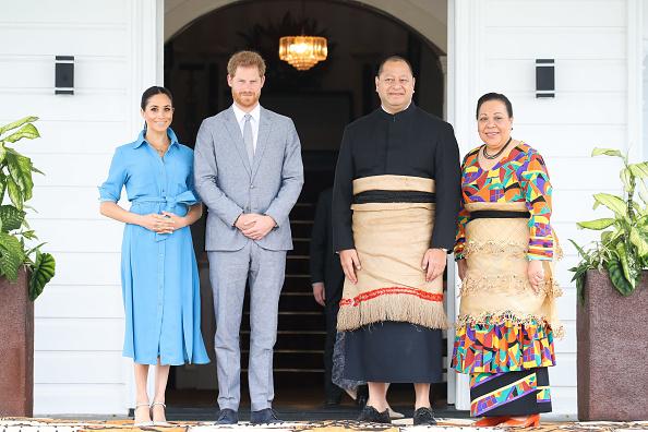 Tonga「The Duke And Duchess Of Sussex Visit Tonga - Day 2」:写真・画像(11)[壁紙.com]