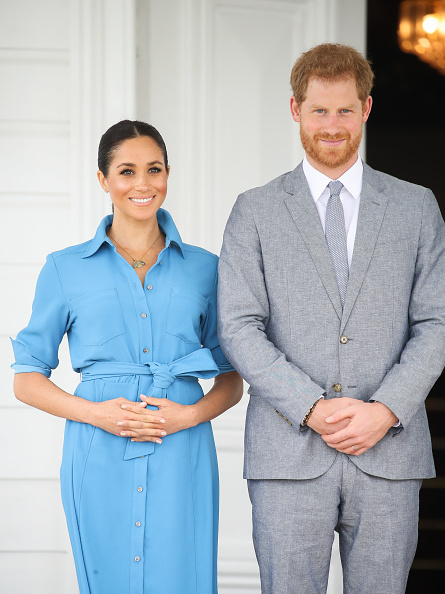 Pregnant「The Duke And Duchess Of Sussex Visit Tonga - Day 2」:写真・画像(11)[壁紙.com]
