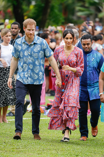 Fiji「The Duke And Duchess Of Sussex Visit Fiji - Day 2」:写真・画像(4)[壁紙.com]