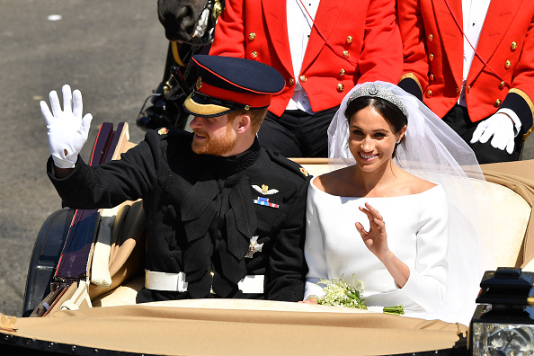 Wedding Dress「Prince Harry Marries Ms. Meghan Markle - Procession」:写真・画像(19)[壁紙.com]