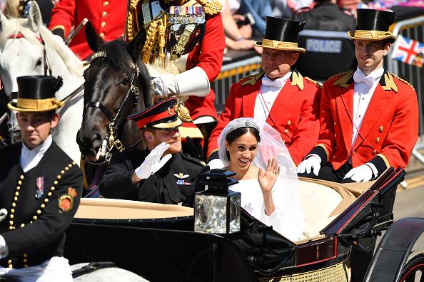 Wedding Dress「Prince Harry Marries Ms. Meghan Markle - Procession」:写真・画像(17)[壁紙.com]