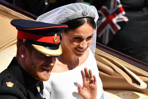 Tiara「Prince Harry Marries Ms. Meghan Markle - Procession」:写真・画像(1)[壁紙.com]