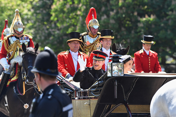 Dan Mullan「Prince Harry Marries Ms. Meghan Markle - Procession」:写真・画像(12)[壁紙.com]