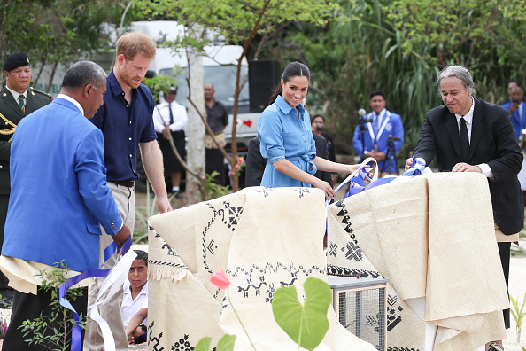 Queens Commonwealth Canopy「The Duke And Duchess Of Sussex Visit Tonga - Day 2」:写真・画像(18)[壁紙.com]