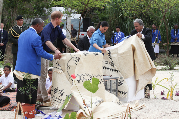 Queens Commonwealth Canopy「The Duke And Duchess Of Sussex Visit Tonga - Day 2」:写真・画像(15)[壁紙.com]