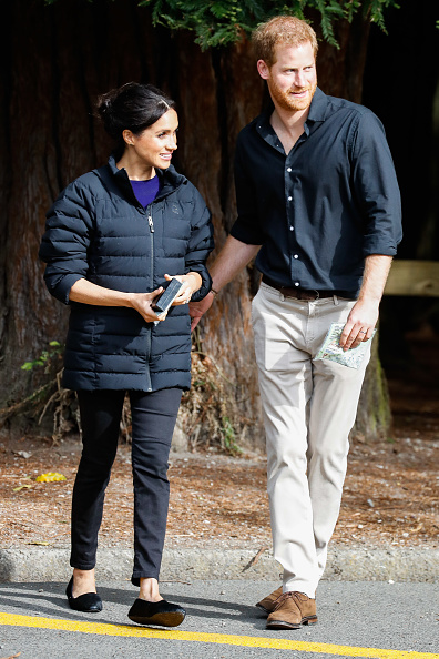 Outdoors「The Duke And Duchess Of Sussex Visit New Zealand - Day 4」:写真・画像(7)[壁紙.com]