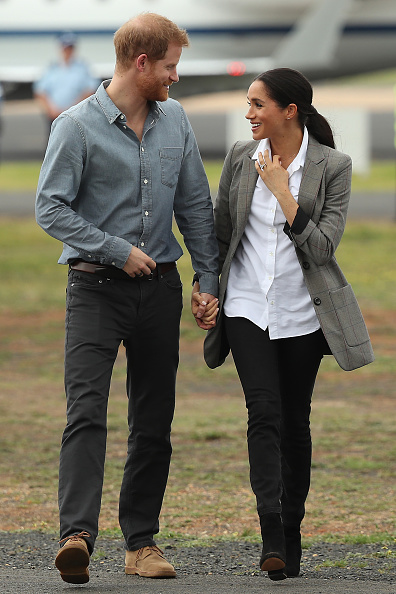 White Color「The Duke And Duchess Of Sussex Visit Australia - Day 2」:写真・画像(11)[壁紙.com]