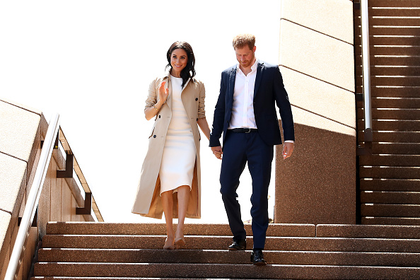 Arrival「The Duke And Duchess Of Sussex Visit Australia - Day 1」:写真・画像(5)[壁紙.com]