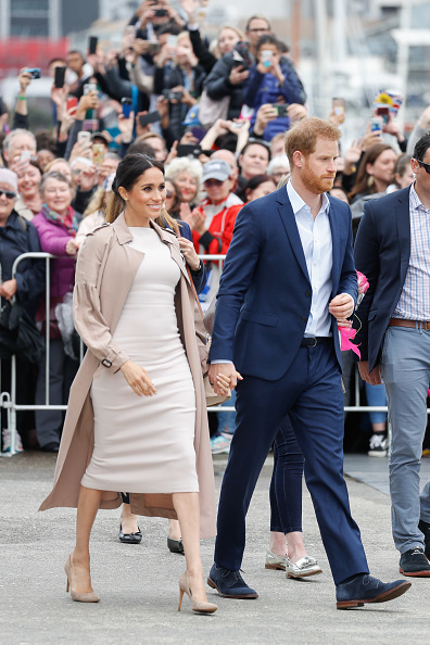 Two People「The Duke And Duchess Of Sussex Visit New Zealand - Day 3」:写真・画像(2)[壁紙.com]