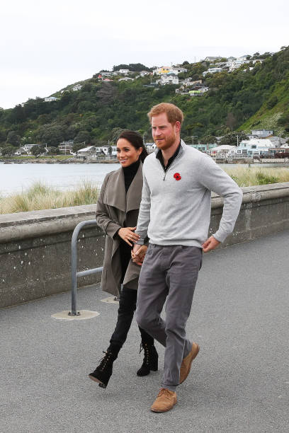 The Duke And Duchess Of Sussex Visit New Zealand - Day 2:ニュース(壁紙.com)