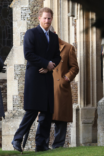 King's Lynn「The Royal Family Attend Church On Christmas Day」:写真・画像(4)[壁紙.com]