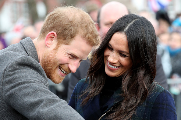 Visit「Prince Harry And Meghan Markle Visit Edinburgh」:写真・画像(12)[壁紙.com]