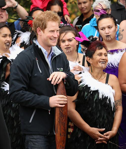 Wanganui - New Zealand「Prince Harry Visits New Zealand - Day 6」:写真・画像(15)[壁紙.com]
