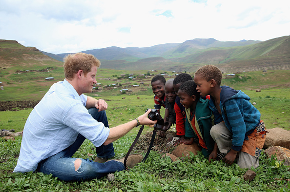 Africa「Prince Harry Visits Lesotho With His Charity Sentebale」:写真・画像(1)[壁紙.com]