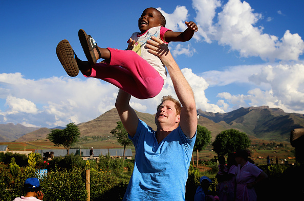 Visit「Prince Harry Visits Lesotho With His Charity Sentebale」:写真・画像(14)[壁紙.com]