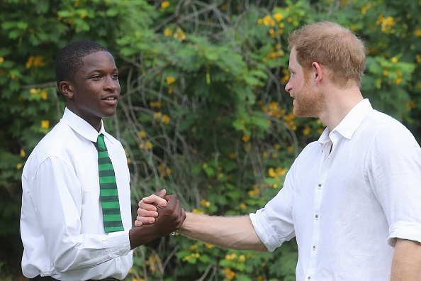 Queens Commonwealth Canopy「Prince Harry Visits The Caribbean - Day 3」:写真・画像(5)[壁紙.com]