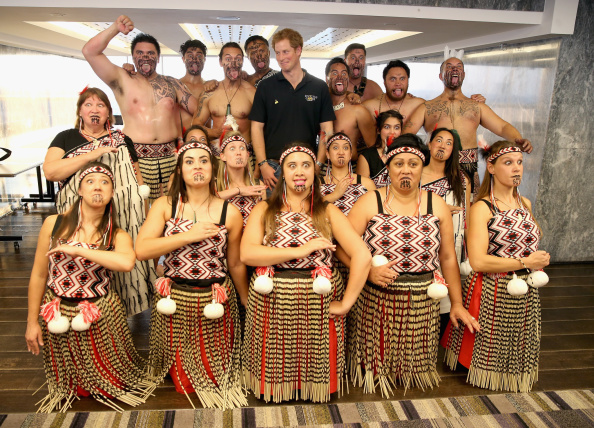 New Zealand Warriors「Prince Harry Meets The New Zealand Invictus Games Team」:写真・画像(7)[壁紙.com]