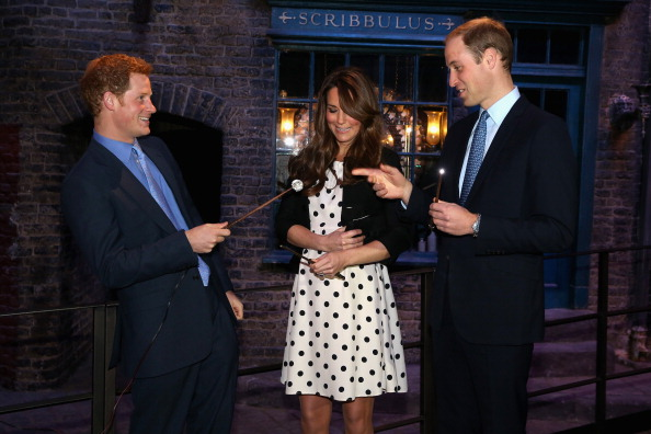 Humor「The Duke And Duchess Of Cambridge And Prince Harry Attend The Inauguration Of Warner Bros. Studios Leavesden」:写真・画像(0)[壁紙.com]
