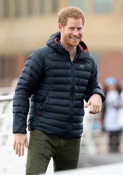 笑顔「Prince Harry Visits Newcastle & Gateshead With Heads Together」:写真・画像(7)[壁紙.com]
