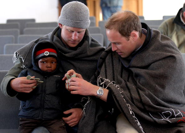 Day 2「Prince William And Harry Visit Lesotho - Day 2」:写真・画像(19)[壁紙.com]