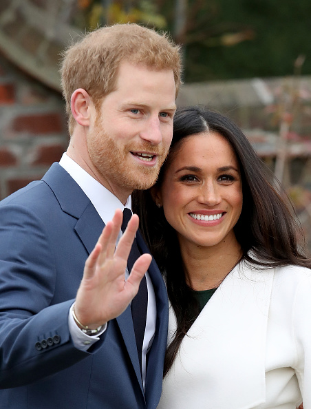 縦位置「Announcement Of Prince Harry's Engagement To Meghan Markle」:写真・画像(18)[壁紙.com]