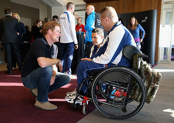Prince Harry Meets Team Captains For The Invictus Games Participating Nations:ニュース(壁紙.com)