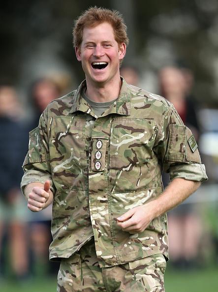 笑顔「Prince Harry Visits New Zealand - Day 5」:写真・画像(11)[壁紙.com]