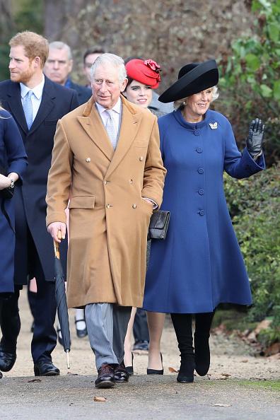 King's Lynn「The Royal Family Attend Church On Christmas Day」:写真・画像(8)[壁紙.com]