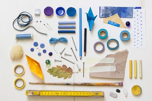 Paper Craft「DIY utensils for tinkering」:スマホ壁紙(13)