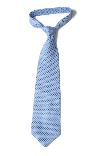 Silk「Blue Necktie on White」:スマホ壁紙(3)
